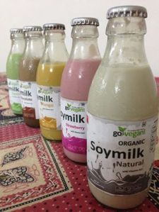 Various soy milks from GoVegan