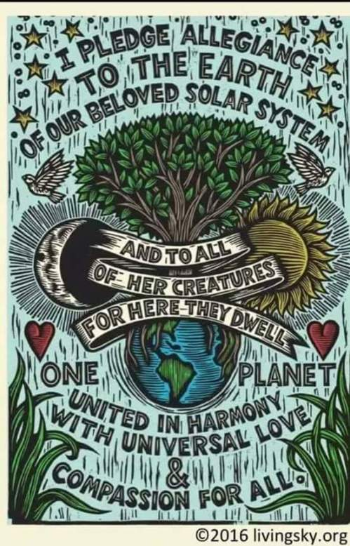 Earth pledge